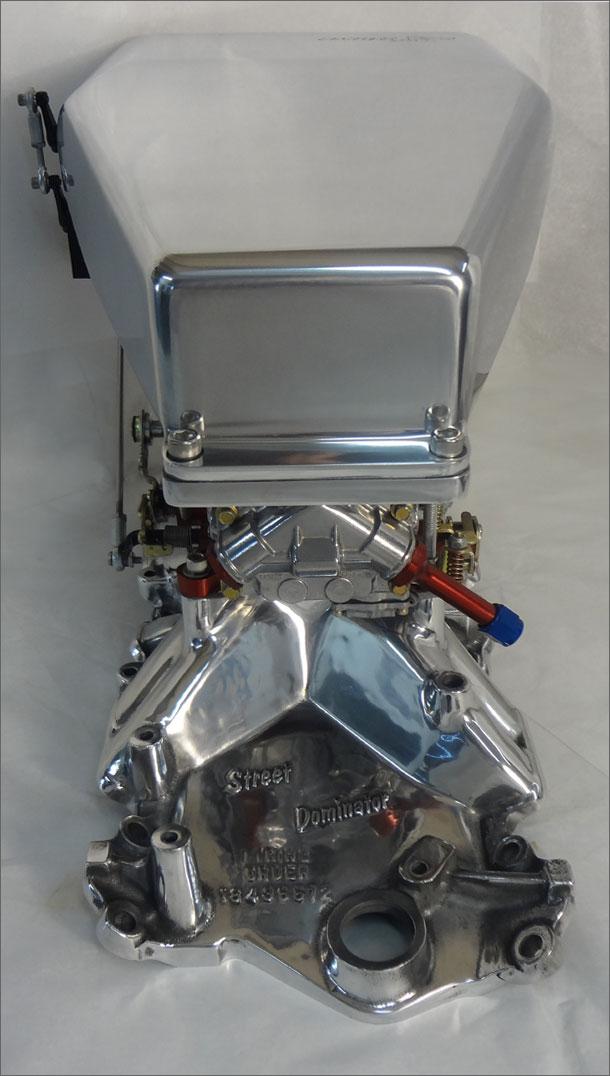 Sc510 streetcatcher worlds premium 4bbl carburetor scoop eventshaper