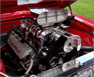 Garlits SC520 Streetcatcher Dual Carburetor Butterfly Scoop