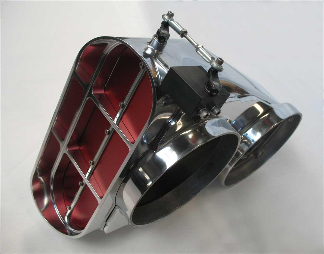 Sc520d garlits streetcatcher dual dominator carburetor butterfly scoop eventshaper