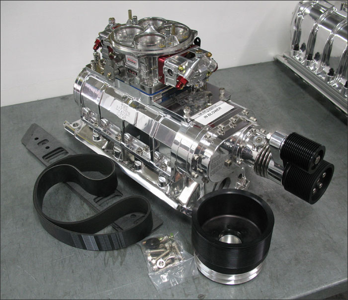 Roots Supercharger Carbs: Ford 351C 6-71 Blower Kit The Blower Shop 6-71 Blower