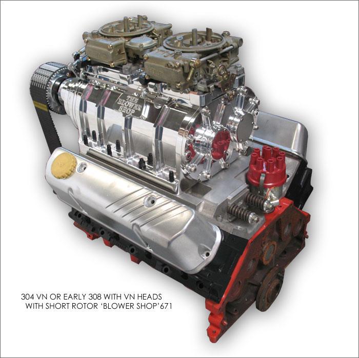 Big Blower Supercharger: Blower Kits 6-71 Thru 14-71 For Big